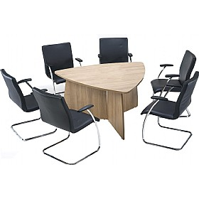 Trilogy Triangular Panel End Boardroom Tables £526 - Meeting Room Furniture