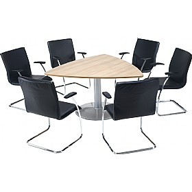 Trilogy Triangular Tulip Boardroom Tables £705 -