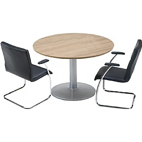 Trilogy Round Tulip Boardroom Tables £579 - Meeting Room Furniture