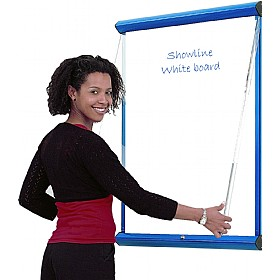 Coloured Frame Shield Showline Whiteboards £101 - Display/Presentation