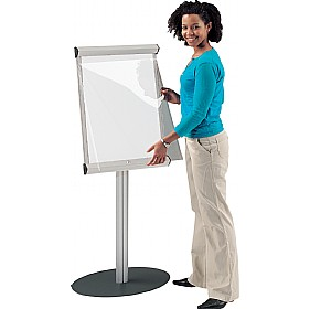 Aluminium Framed Freestanding Shield Showline Whiteboards £219 - Display/Presentation