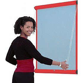 Resist-a-Flame Coloured Frame Shield Showline £115 - Display/Presentation