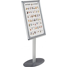 Freestanding Aluminium Framed Shield Noticeboard £148 - Display/Presentation