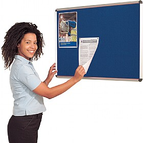 Express Stock Aluminium Frame Shield Noticeboards £40 - Display/Presentation