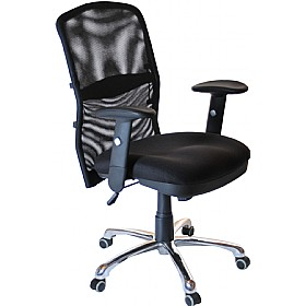 cologne chrome mesh manager chair mesh chairs less 100