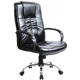 leather faced manager chair leather office chairs less than 100