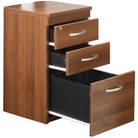 Setenta 3 Drawer Pedestal £0 - Reception Furniture