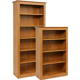 Antique Pine Effect Bookcases £151 - Home Office Furniture
