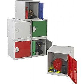 Cube Lockers With BioCote £34 - Education Furniture