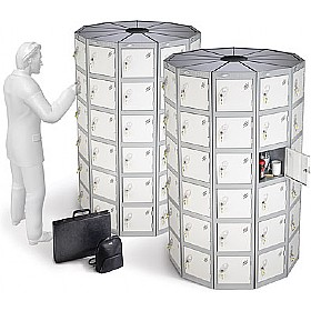 Pod Locker Circles With ActiveCoat £0 - Education Furniture