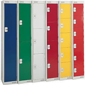 British Standard Metric Lockers With Biocote £0 - Education Furniture