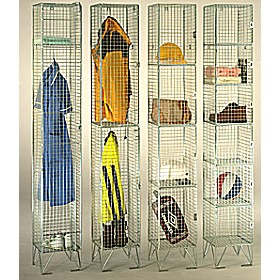 Wire Mesh Lockers £0 - Education Furniture