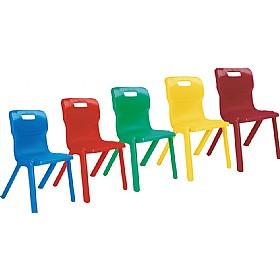 Titan One Piece Classroom Chairs Plastic Classroom Chairs