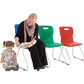 Titan Skid Base Classroom Chairs £0 -
