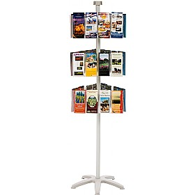Freestanding Literature Carousel 36 x Third A4 Pockets £167 - Display/Presentation