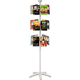 Freestanding Literature Carousel 18 x A5 Pockets £167 - Display/Presentation