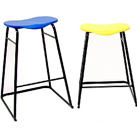 Stacking Education Stool Flat Topped - Pack of 4 £41 - Education Furniture