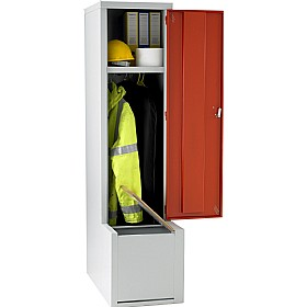Fully Welded Boot Seat Lockers £172 - Education Furniture