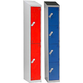 Fully Welded Sloping Top Titan Heavy Duty Lockers £0 - Education Furniture
