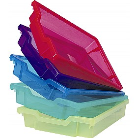 Gratnells Jelly Bean Shallow Trays (Pack of 6) £0 -