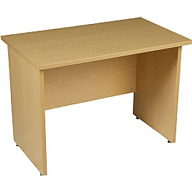 Modus Commercial Panel End Rectangular Extension Desk £145 - Office Desks