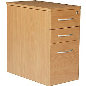 Modus Narrow 3 Drawer Mobile Pedestal £157 - Office Desks