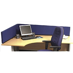 Universal Angled Desktop Screens £61 - Office Screens