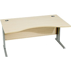 Modus Professional Cantilever Double Wave Desks £237 - Office Desks