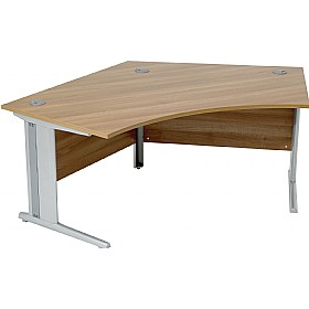 Modus Professional Cantilever 120 Degree Desk £293 - Office Desks