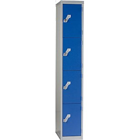 Titan Fully Welded 4 Door Lockers £0 - Education Furniture