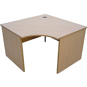 Modus Commercial  Panel End Radial Link Desk £239 - Office Desks