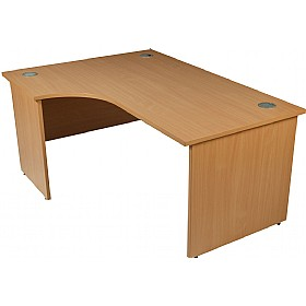 Modus Commercial Panel End Ergonomic Desk £203 - Office Desks