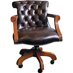 Antique Replica Admiral Chair £690 - Home Office Furniture