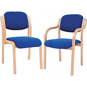 Titan Wooden Frame Chairs £103 - Reception Furniture