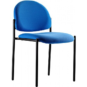 Denton Black Frame Stacking Chair £79 - Office Chairs