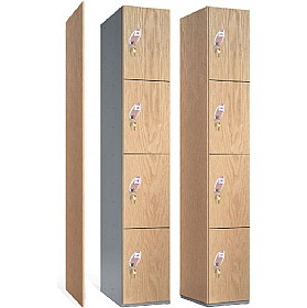 Timber Faced Lockers With ActiveCoat £218 - Education Furniture