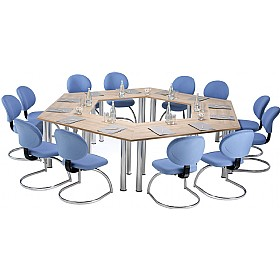 Trilogy Stacking Conference Tables £0 - Meeting Room Furniture