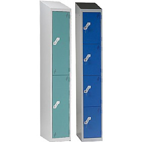 Fully Welded Sloping Top Lockers £0 - Education Furniture