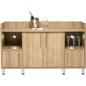 Trilogy Large Combi Credenza £734 - Meeting Room Furniture