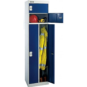 2 Person Locker With Biocote £0 - Education Furniture