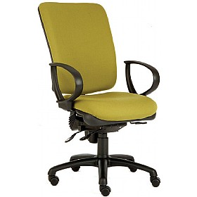 Identity High Back Executive Operator Chair £257 - Office Chairs