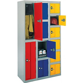 Stronghold Lockers With Biocote £163 - Education Furniture