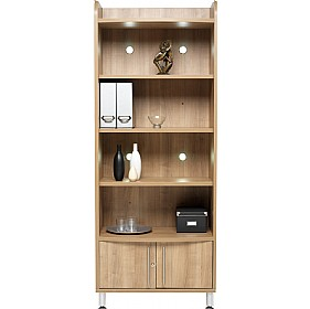 Trilogy Tall Wide Bookcase Unit £563 - Meeting Room Furniture