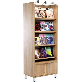 Trilogy Tall Display Unit £898 - Meeting Room Furniture