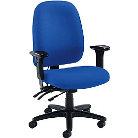 Vista 24 Hour High Back Operator Chair £240 - Office Chairs