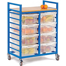 Fruit Trolley With Deep Trays £231 - Education Furniture