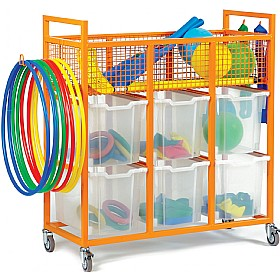 Sports Equipment Trolley £357 - Education Furniture