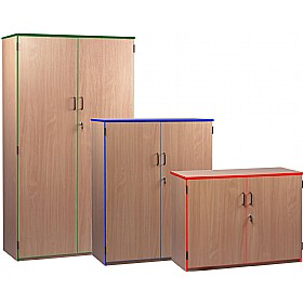 Coloured Edge Cupboards £183 - Office Cupboards