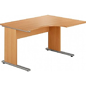 NEXT DAY City Ergonomic Desks £145 - Next Day Office Furniture