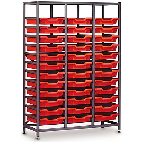 Gratnells 3 Column Midi 36 Tray Storage Rack £0 - Education Furniture